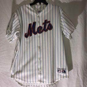 Majestic New York Mets jersey 15 Beltran size L